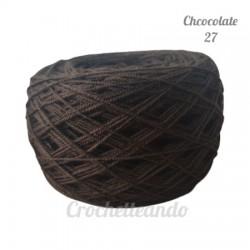 HILO CROCHET _ CHOCOLATE 27 2/9.5