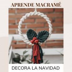 APRENDE MACRAME: DECORACION NAVIDEÑA